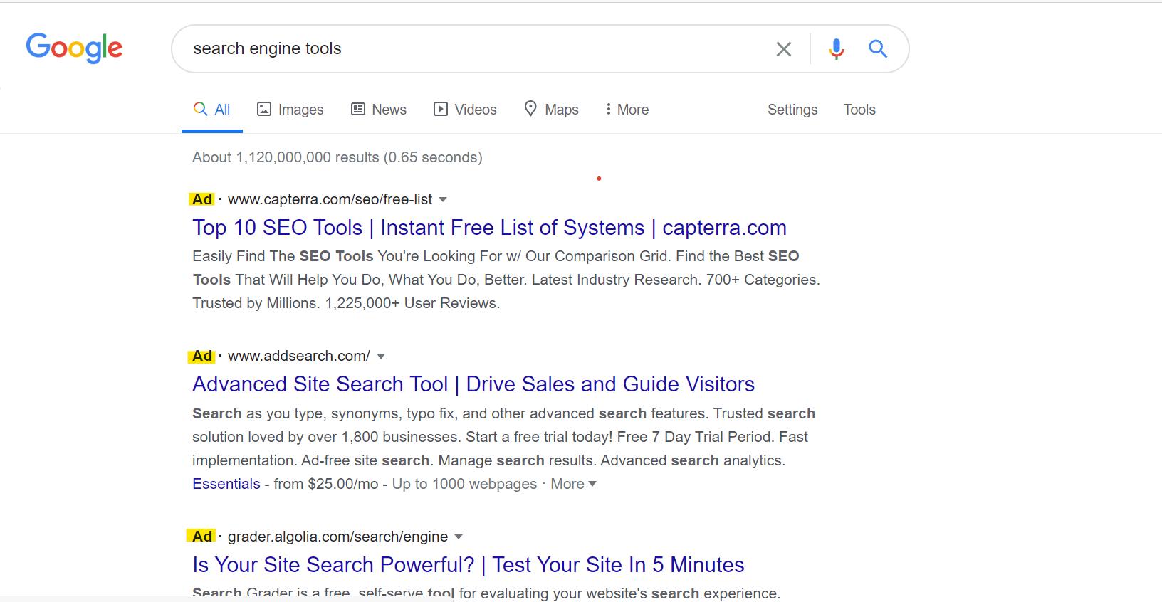 google-ad-grants-for-nonprofits-search